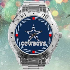 Dallas Cowboys Watch NFL Stainless Steel B…